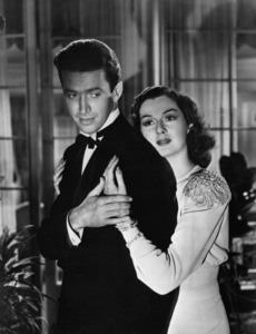 """James Stewart and Rosalind Russell in """"No Time For Comedy""""1940 - Image 0802_0677"""