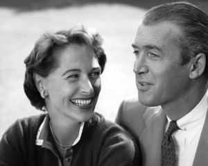 James Stewart with his wife Gloria1959 © 1978 John Engstead - Image 0802_0790