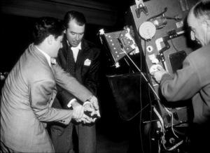 "James Stewart on the set of ""Rope.""1948 Warner - Image 0802_0916"