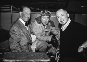 James Stewart with Maurice Chevalierand Director Billy Wilder, c. 1957 - Image 0802_0925