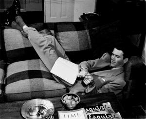 james StewartAt home, c. 1939Copyright John Swope Trust / MPTV - Image 0802_0929