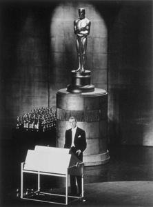 """""""Academy Awards: 30th Annual,""""James Stewart as host, 1958. - Image 0802_0971"""