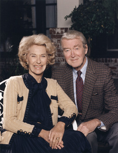 James Stewart with his wife Gloria1982 © 1982 Eric Skipsey - Image 0802_2041