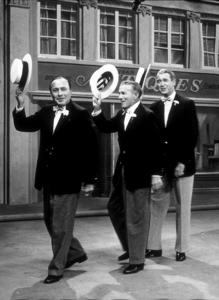 James Stewart with Jack Benny and George Burns, circa 1963. © 1978 Gerald SmithMPTV  - Image 0802_2126