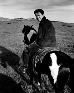 James Stewartriding horseback, 1937Copyright John Swope Trust / MPTV - Image 0802_2148