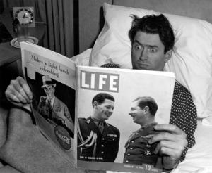 James Stewartlaying in Bed, 1940Copyright John Swope Trust / MPTV - Image 0802_2154