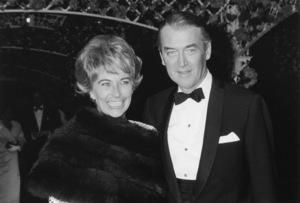 James Stewart With his wife Gloria1964 © 1978 Kim Maydole Lynch - Image 0802_2164