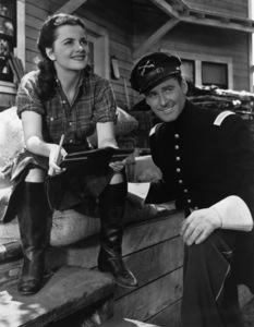 """""""Santa Fe Trail""""Olivia de Havilland, Errol Flynn1940 Warner Brothers - Image 0803_0100"""