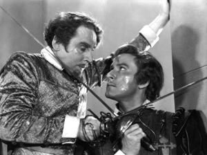 "Errol Flynn""Adventures of Robin Hood""Basil Rathbone,Errol Flynn1938 Warner Bros.**H.L. - Image 0803_0152"