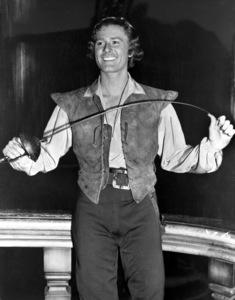 "Errol Flynnin costume for ""The Sea Hawk""1940 Warner Bros.Photo by Mac Julian - Image 0803_0153"
