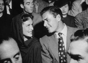 Errol Flynn and Paulette Goddard, c. 1940.**I.V. - Image 0803_1009