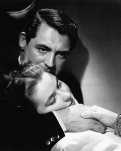 "Cary Grant and Ingrid Bergman in ""Notorious""1946© 1978 Ernest Bachrach** I.V. - Image 0807_0022"