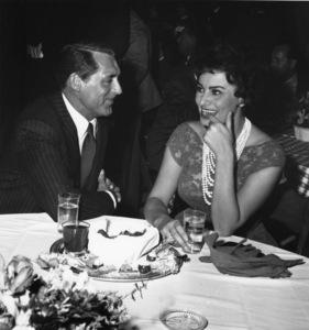Cary Grant and Sophia Loren1958 - Image 0807_0025
