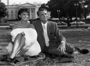 Cary Grant and Sophia Lorencirca 1958 - Image 0807_0100