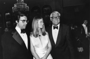 Cary Grant with Peter Bogdanovich and Cybill Shepherdcirca 1975 © 1978 Gunther - Image 0807_2012