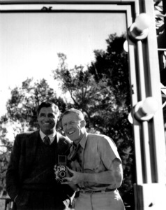 Cary Grant and photographer John Swope 1948 © John Swope Trust - Image 0807_2029