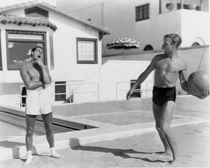 Cary Grant and Randolph Scott (best friends and roommates), HOME LAYOUT, 1935, Paramount, I.V. - Image 0807_2057