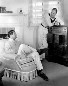 Cary Grant and Randolph Scott (best friends and roommates), HOME LAYOUT, 1935, Paramount, I.V. - Image 0807_2059