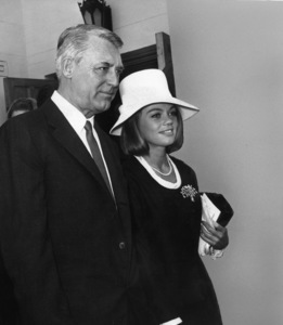 Cary Grant and Dyan Cannoncirca 1967Photo by Joe Shere - Image 0807_2060