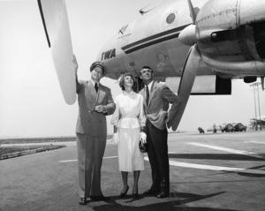 Cary Grant and Betsy Drake circa 1952 Photo by Gerald Smith  - Image 0807_2085