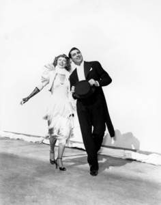 """Irene Dunne and Cary Grant in """"The Awful Truth""""1937 Columbia** I.V. / J.J. - Image 0807_2091"""