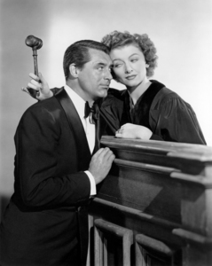 """Cary Grant and Myrna Loy in """"The Bachelor and the Bobby-Soxer""""1947 RKO**I.V. / J.J. - Image 0807_2092"""