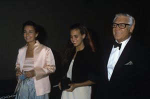 Cary Grant with Barbara Harris and Jennifer Grantcirca 1982© 1982 Gary Lewis - Image 0807_2113