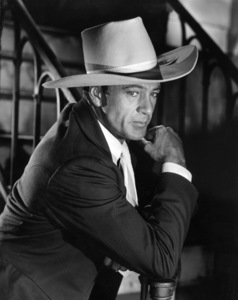 """Gary Cooper during the filming of """"Saratoga Trunk""""1945Photo by Bert Six - Image 0809_0032"""