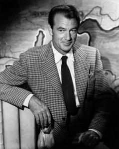 """Gary Cooper during the filming of """"Distant Drums""""1951Photo by Bert Six - Image 0809_0037"""