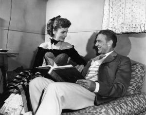 """Bright Leaf""Gary Cooper, Lauren Bacall1950 Warner Brothers - Image 0809_0111"