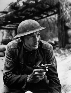 """Gary Cooper during the filming of """"Sergeant York""""1941 - Image 0809_0757"""