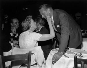 Gary Cooper and Gracie Allen1961 © 1978 David Sutton  - Image 0809_0841