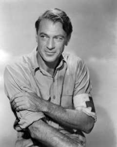 """Gary Cooper in """"The Story of Dr. Wassell""""1944 Paramount** I.V. / M.T. - Image 0809_0920"""