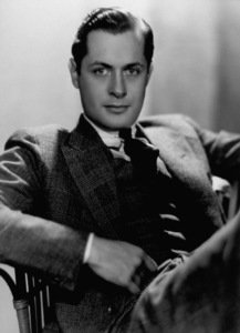 Robert Montgomery1937Photo by George Hurrell - Image 0812_0031