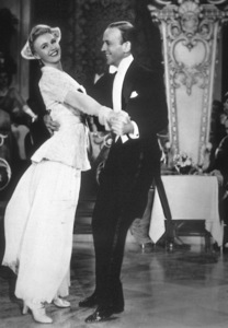 """Fred Astaire& Ginger Rogers in """"The Story of Vernon and Irene Castle""""1939 RKO - Image 0814_0002"""