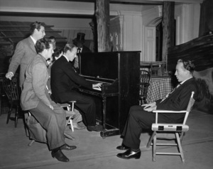 Fred Astaire, Irving Berlin and Bing Crosby around the piano1942 - Image 0814_0334