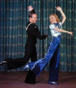 """Fred Astaire and Ginger Rogers""""Follow the Fleet""""July 1936 RKO © 1978 James Doolittle**K.K. - Image 0814_0856"""