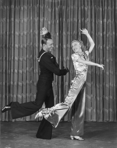 """Fred Astaire and Ginger Rogers""""Follow the Fleet""""July 1936 RKO © 1978 James Doolittle**K.K. - Image 0814_0856b"""