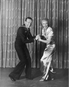 """Fred Astaire and Ginger Rogers""""Follow the Fleet""""July 1936 RKO © 1978 James Doolittle**K.K. - Image 0814_0858"""