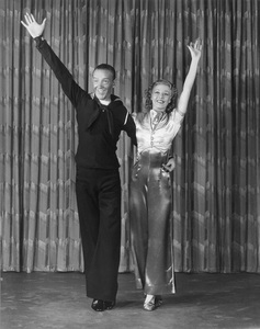 """Fred Astaire and Ginger Rogers""""Follow the Fleet""""July 1936 RKO © 1978 James Doolittle**K.K. - Image 0814_0860"""