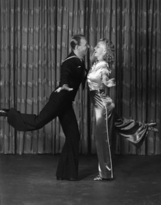 """Fred Astaire and Ginger Rogers in """"Follow the Fleet"""" 1936 RKO Radio Pictures© 1978 James Doolittle / ** K.K. - Image 0814_0862"""