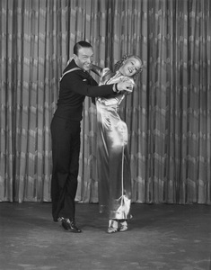 """Fred Astaire and Ginger Rogers""""Follow the Fleet""""July 1936 RKO © 1978 James Doolittle**K.K. - Image 0814_0863"""