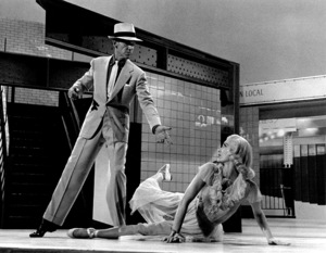 Fred Astaire with unidentified womanc. 1950