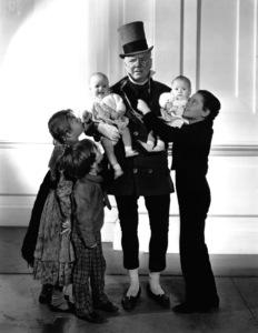 "W.C. Fields and Freddie Bartholomew in ""David Copperfield,"" 1934. © 1978 Ted Allan"