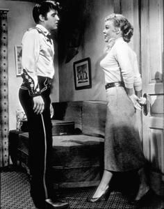 "Elvis Presley and Jana Lund""Loving You""1957 Paramount - Image 0818_0001"