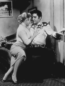 "Elvis Presley and Jana Lund""Loving You""1957 Paramount - Image 0818_0004"