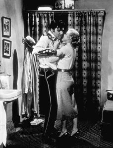 "Elvis Presley and Jana Lund""Loving You""1957 Paramount - Image 0818_0006"