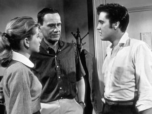 """Elvis Presley, Dolores Hart, and James Gleason in """"Loving You""""1957 Paramount - Image 0818_0009"""
