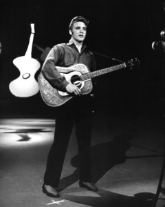 "Elvis Presley on ""The Ed Sullivan Show"" in Los Angeles09-09-1956Photo by Gabi Rona - Image 0818_0028"