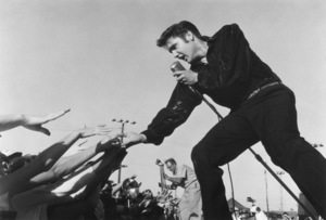 Elvis Presley in Tupelo, Mississippi performing at the Mississippi-Alabama Fair and Dairy ShowSeptember 26,1956© 1978 Roger Marshutz - Image 0818_0053